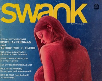 Swank Magazine vol 20 n 3 May 1973 Good condition Mature