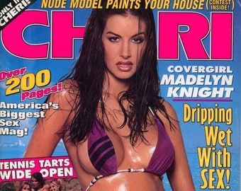 Cheri Magazine April 1996 Near Mint condition Mature