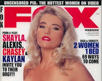 Fox Magazine May 1996 Excellent Plus condition Mature Shayla Alexis Chasey Kaylan