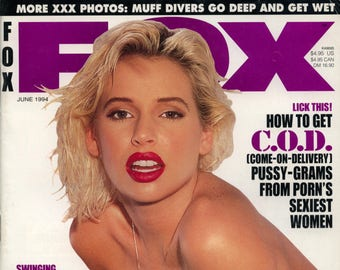 Fox Magazine June 1994 Near MInt condition Mature Sarenna Kimberly Kupps
