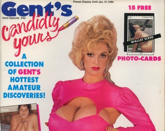 Gent Special Candidly Yours N43 Magazine January 1994 Very Good Condition Mature