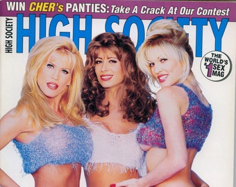 High Society Magazine August 1995 Near Mint condition Mature