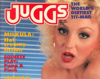Juggs Magazine May 1984 Excellent condition Mature