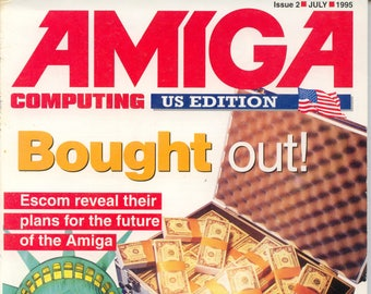 Amiga Computing US Edition Magazine #2 Very Good Condition 16 Bit Computer