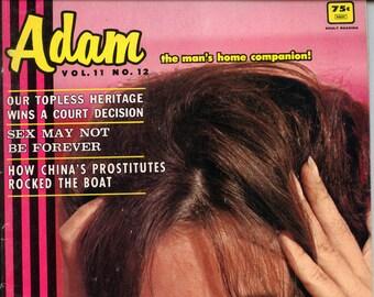 Adam Magazine vol 11 n 12 December 1967 Near Mint Condition Mature