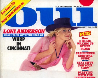 Oui Magazine February 1980 Good condition Mature