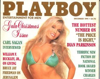 Playboy Magazine December 1991 Excellent Plus Condition Mature Dian Parkinson