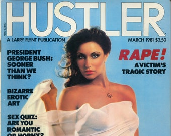 Hustler Magazine March 1981 Very Good condition Mature