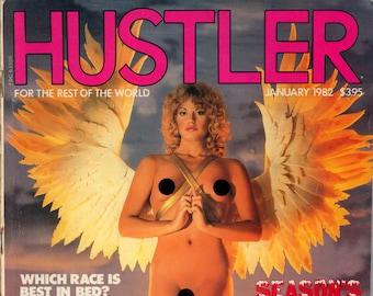 Hustler Magazine Hustler Magazine January 1982 Excellent condition Mature
