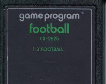Atari 2600 Football Game Cartridge Sports