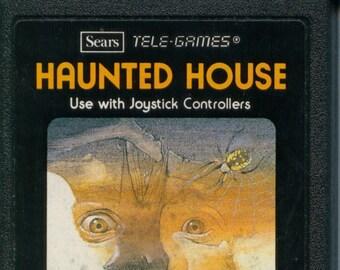 Atari 2600 Haunted House Game Cartridge