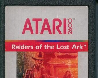 Atari 2600 Raiders of the Lost Ark Game Cartridge