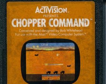 Atari 2600 Chopper Command Game Cartridge