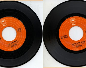 Boston Don't look Back The Journey 45 RPM Record