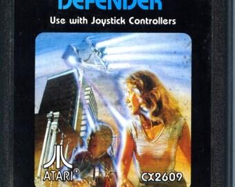 Atari 2600 Defender Game Cartridge