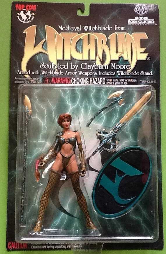 Neuf! Moore Action Collectibles WITCHBLADE Sara Pezzini Robe Rouge Figure