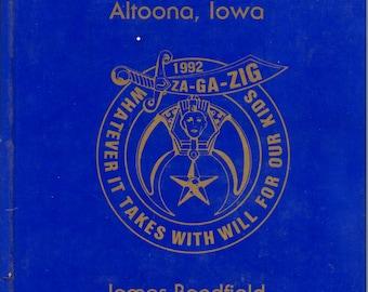 Za-Ga-Zig Shrine Temple Altoona Iowa 1992 Annual Photo Book