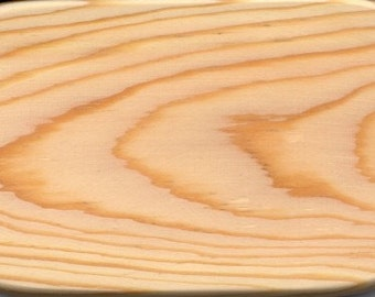 Wooden Basket Bottom Pine 3 x 6 inch Oval rectangle