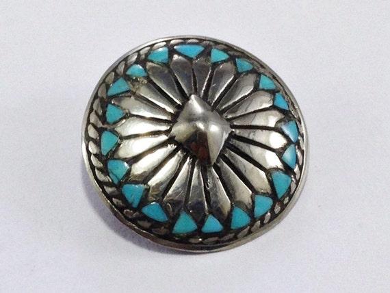 ebf5c890033e Ouest ceinture Turquoise cuir Concho Womens Biker cheval selle portefeuille  portefeuille selle Rivet accessoire vis Support ...