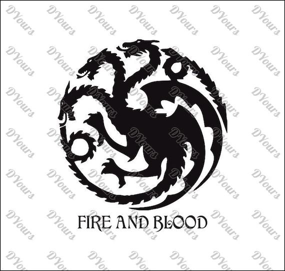 Targaryen House Game Of Thrones Vector Svg Cdr Ai Pdf Eps Etsy