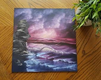Crimson Tides (Bob Ross painting)