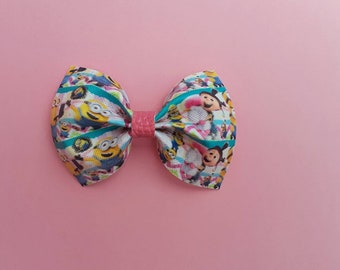 Hair bow; leather bow; bpws; baby bows; babygirlbows
