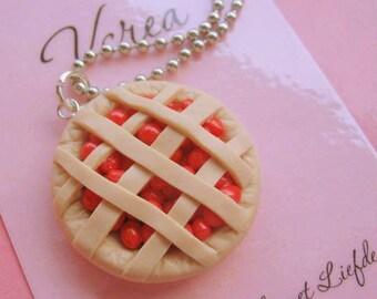Cherry Pie Necklace