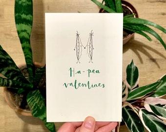 Ha-pea Valentines Card