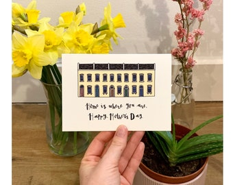 Mother's Day Card - Home is Where You Are, Happy Mother's Day