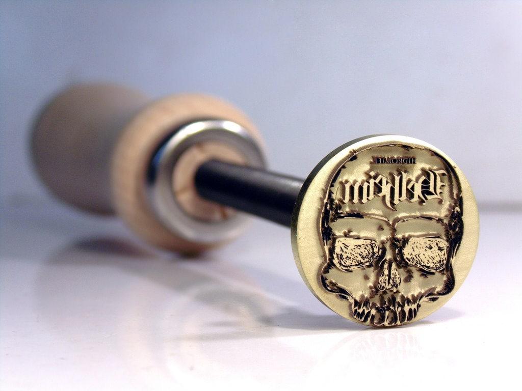 1 Inch Branding Iron Woodburning Stamp Wood Leather