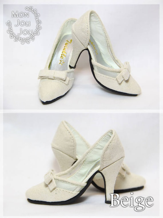 74c4f2f02ca82 for 1/3 BJD dolls~D'Orsay Court Bow-knot High-heels - SD10 / SD13 / SDGr /  SD16 / DD / Smart doll girl's doll shoes