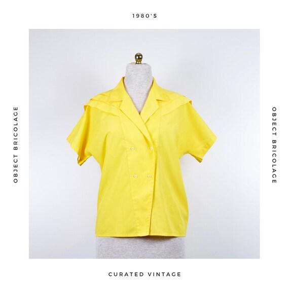 80s Yellow Shirt
