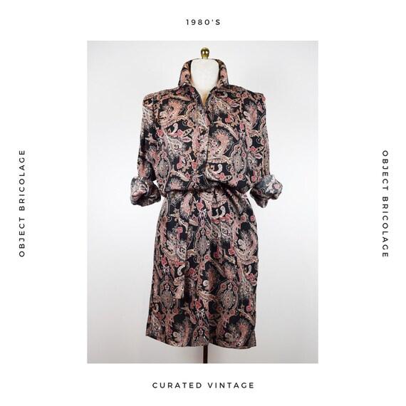 80's Paisley Dress