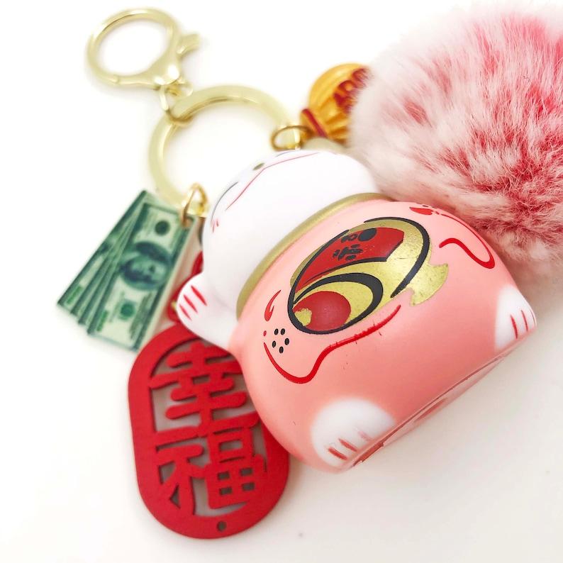 Maneki Neko Pink