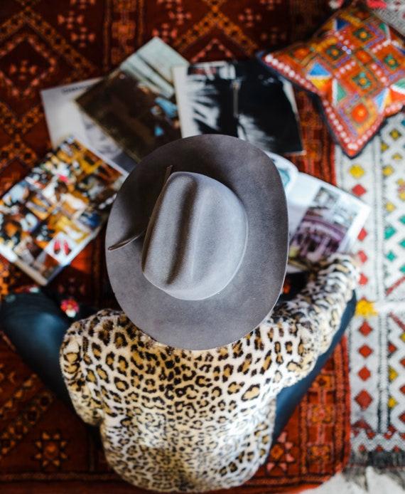 f13730880a459 Vintage Stetson 4X Cowboy Hat