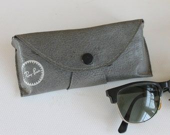 Vintage Ray Ban Sunglasses Case, Gray Glasses Case, Original Ray-Ban Unisex  Case, Gift Idea 18e1486d5edb