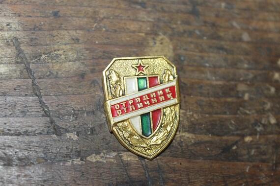 Communist Badge, Socialist Badge, Badge of Excelle