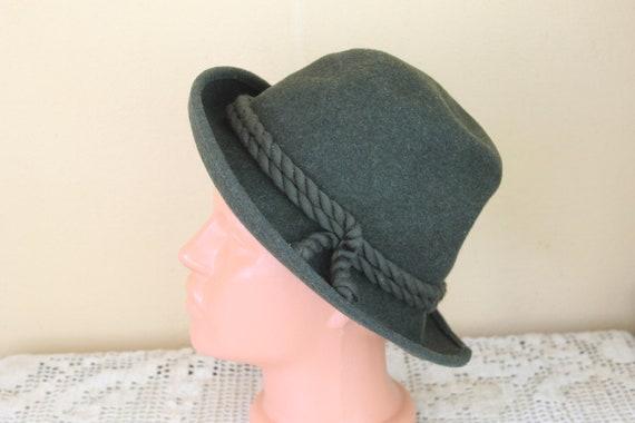 Vintage Fedora Hat, Original Ischler Hut REINE HAN