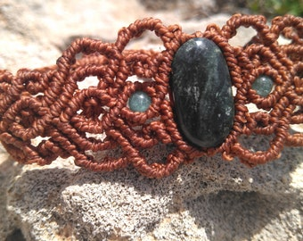 Bracelet Jade Macrame