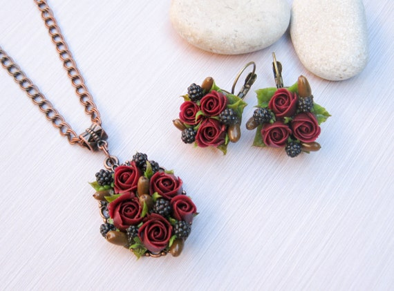 Wedding Gifts For Women: Gift For Woman Rustic Wedding Jewelry Fall Wedding Jewelry
