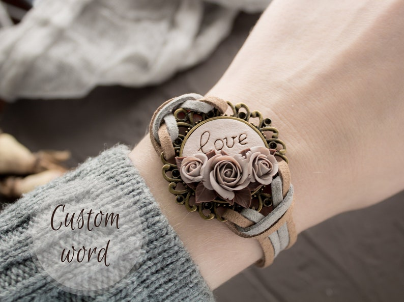 Personalized birthday gifts for women personalized bracelet image 1