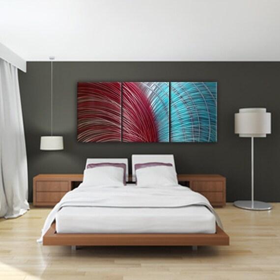 Metal Wall Art Abstract Wall Art Modern Wall Art Bedroom