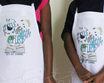 Little Muslim Chef Apron