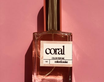 Coral Perfume - Seaside Briar Rose Color Perfume