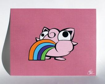 """Jigglypuke, 8.5"""" x 11"""" print."""