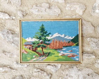 Art Note Cards Rustic Log Cabin Hunting Art 4 Pack With Etsy