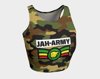 299b24562 Jah army athletic crop top Rlw2716