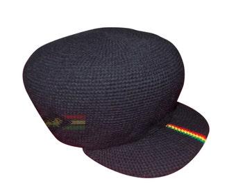 0e4f5fdf92673 Rasta jamaican reggae hand crocheted hat RLW265