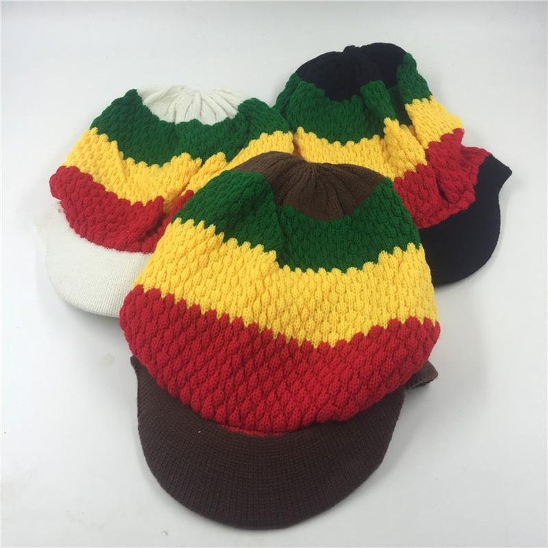 Cool Rastafarian hat RLW798