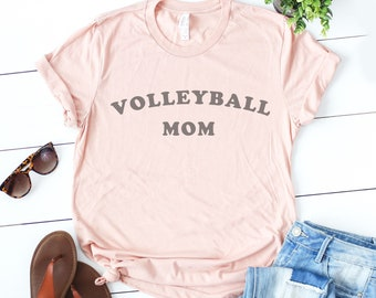 5818fa37c Volleyball Mom T Shirt